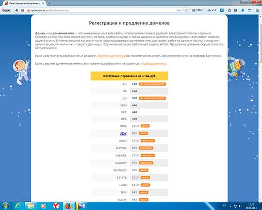 Цены-на-домены